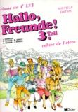 Jean-Pierre Guindon et Jean Zehnacker - Allemand 4e LV1 - Cahier de l'élève.