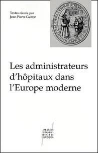 Deedr.fr Les administrateurs d'hôpitaux dans l'Europe moderne Image