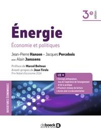 Jean-Pierre Hansen et Jean-Pierre Hansen - Énergie - Économie et politiques.