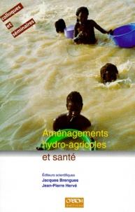 Jean-Pierre Hervé et Jacques Brengues - Aménagements hydro-agricoles et santé - Vallée du fleuve Sénégal, actes du Colloque Eau et santé, Dakar, novembre 1994.