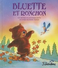 Jean-Pierre Idatte et Michel Trublin - Bluette et Ronchon. 1 CD audio