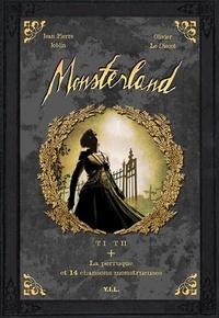 Jean-Pierre Joblin et Olivier Le Discot - Monsterland - Tome 1 - tome 2, plus La perruque et 14 chansons monstrueuses. 1 CD audio
