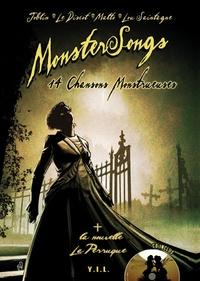 Jean-Pierre Joblin et Olivier Le Discot - Monstersongs 14 chansons monstrueuses. 1 CD audio