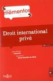 Jean-Pierre Laborde et Sandrine Sana-Chaillé de Néré - Droit international privé.