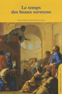 Jean-Pierre Landry - Le temps des beaux sermons.