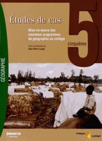 Jean-Pierre Lauby - Etudes de cas 5e - Mise en oeuvre des nouveaux programmes de géographie au collège. 1 DVD
