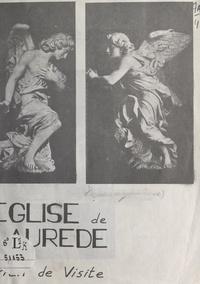 Jean-Pierre Laulom et Marie-Lys Carbonel - Église de Laurède - Plan de visite.