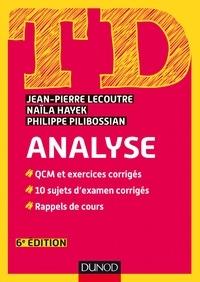 Jean-Pierre Lecoutre et Naïla Hayek - TD Analyse - 6e éd..
