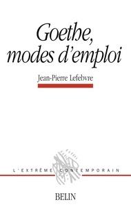 Jean-Pierre Lefebvre - .
