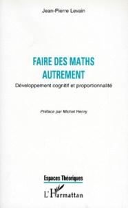 Checkpointfrance.fr FAIRE DES MATHS AUTREMENT. Développement cognitif et proportionnalité Image