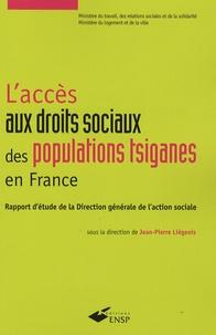 Laccès aux droits sociaux des populations tsiganes en France - Rapport détude de la Direction générale de laction sociale.pdf