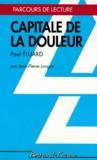 """Jean-Pierre Longre - """"Capitale de la douleur"""" de Paul Eluard."""