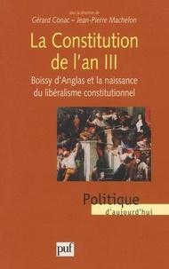 Jean-Pierre Machelon et Gérard Conac - .