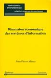 Jean-Pierre Marca - Dimension économique des systèmes d'information.