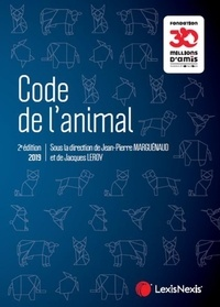 Jean-Pierre Marguénaud et Jacques Leroy - Code de l'animal.