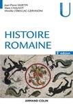 Jean-Pierre Martin et Alain Chauvot - Histoire romaine - 5e éd..
