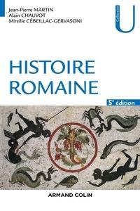 Livres audio à télécharger gratuitement en mp3 Histoire romaine - 5e éd. (Litterature Francaise)