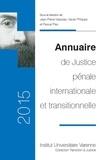 Jean-Pierre Massias et Xavier Philippe - Annuaire de justice pénale internationale et transitionnelle.