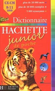 Jean-Pierre Mével - Dictionnaire Hachette Junior de poche - CE-CM, 8-11 ans.