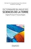 Jean-Pierre Michel et Michael S.N. Carpenter - Dictionnaire bilingue des sciences de la Terre - 6e éd. - Anglais/Français-Français/Anglais.