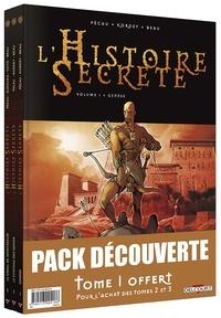 Deedr.fr L'Histoire Secrète Tome 1 à 3 Image