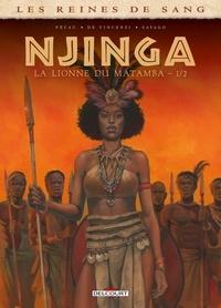 Jean-Pierre Pécau et Alessia de Vincenzi - Les reines de sang  : Njinga, Reine d'Angola - Tome 1.
