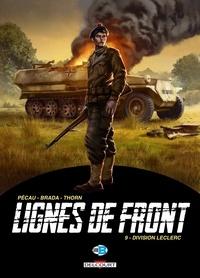 Jean-Pierre Pécau et  Brada - Lignes de front Tome 9 : Division Leclerc.