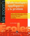 Jean-Pierre Posière - Mathématiques appliquées à la gestion.