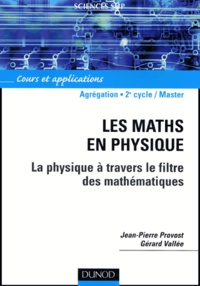 Deedr.fr Les maths en physique - La physique à travers le filtre des mathématiques Image