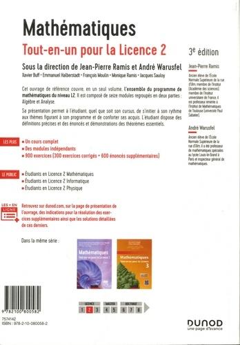 Mathématiques. Tout-en-un pour la Licence 2 3e édition