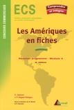 Jean-Pierre Regad-Pellagru et Claude Jeannot - Les Amériques en fiches.