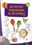 Jean-Pierre Régnier - Les petites percussions en 20 séances. 1 DVD + 1 CD audio