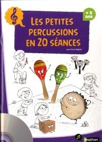 Les petites percussions en 20 séances - Jean-Pierre Régnier |