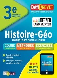 Histoire Géographie Enseignement moral et civique Brevet 3e - Jean-Pierre Rocher |