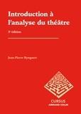 Jean-Pierre Ryngaert et Daniel Bergez - Introduction à l'analyse du théâtre.
