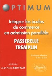 Jean-Pierre Saint-Avit - Intégrer les écoles de commerce en admission parallèle.