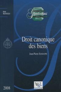 Jean-Pierre Schouppe - Droit canonique des biens.