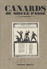 Jean-Pierre Seguin - Canards du siècle passé.