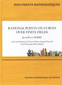 Jean-Pierre Serre - Rational points on curves over finite fields.