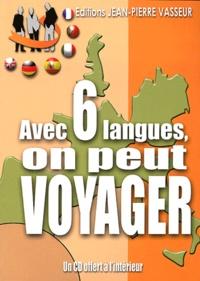 Deedr.fr Avec 6 langues, on peut voyager! - Anglais... Allemand... Espagnol... Italien... Portugais... Français Image