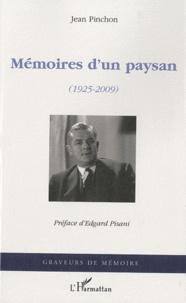 Histoiresdenlire.be Mémoires d'un paysan (1925-2009) Image