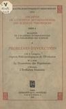 Jean Piveteau et M. J. Sirks - Problèmes d'évolution - Aspects paléontologiques de l'évolution. Suivi de Le dynamisme des populations. Suivi de L'évolution humaine.