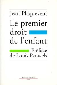 Accentsonline.fr Le premier droit de l'enfant Image