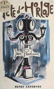 Jean Pradeau - Tête d'horloge.