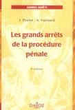 Jean Pradel et André Varinard - Les grands arrêts de la procédure pénale.