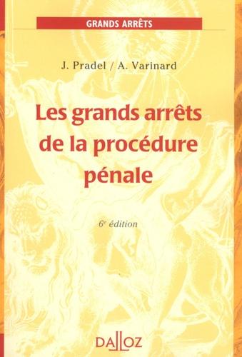 Les grands arrêts de la procédure pénale 6e édition