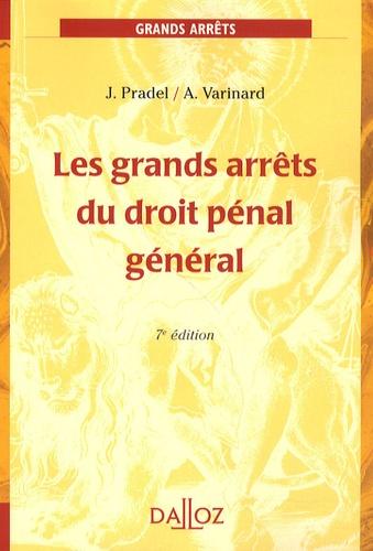 Les grands arrêts du droit pénal général 7e édition