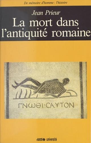 La Mort dans l'Antiquité romaine