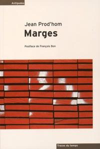 Jean Prod'hom - Marges.