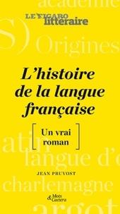 Jean Pruvost - Une histoire de la langue française - [Un vrai roman.